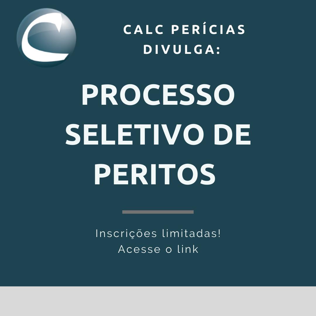 SELEÇÃO CALC 2021